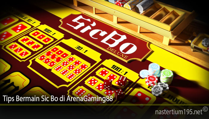 Tips Bermain Sic Bo di ArenaGaming88